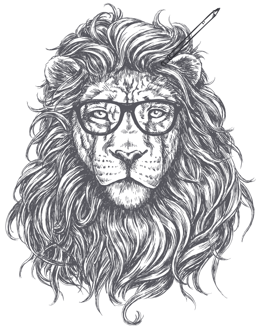 Lion Marketing Logo